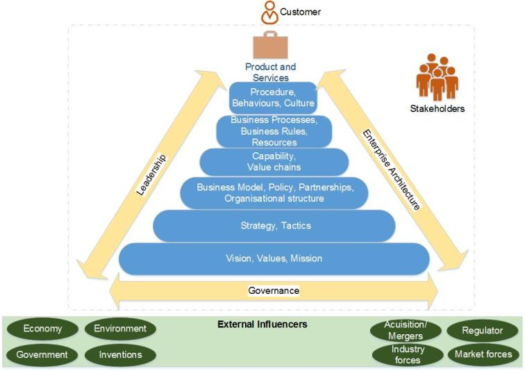 Singh's Business Reference Model-