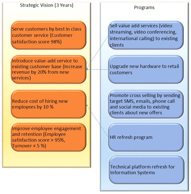 Strategy and Programs mapping